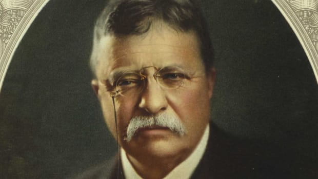 Theodore Roosevelt was William McKinley's vice president until tragedy struck and Roosevelt landed in McKinley's seat.