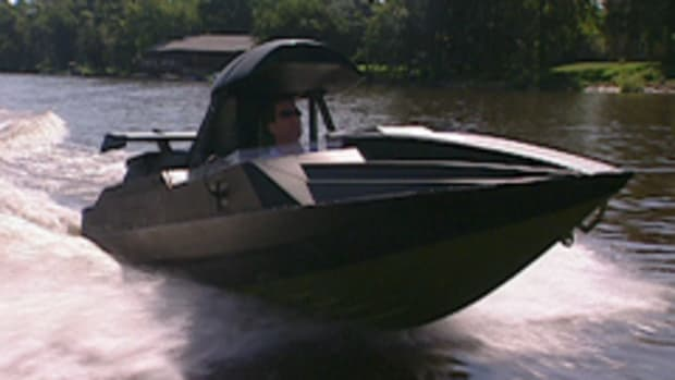 The Q-boat, featured in the James Bond film, The World Is not Enough, is one of the most remarkable water-going spy toys ever created.
