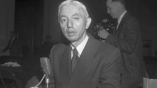 On March 21, 1960, U.S. Vice Admiral Hyman Rickover discusses the importance of keeping abreast of Soviet technological developments.