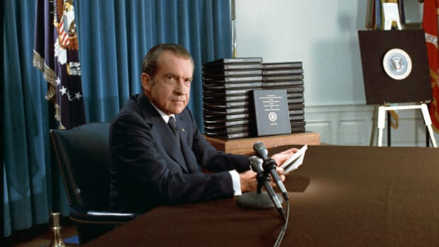 On August 8, 1974, Richard M. Nixon addressed the American people to announce his resignation.