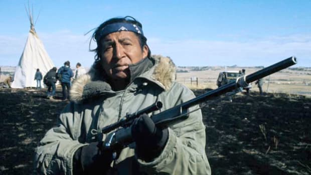 On May 6, 1973, 71 days after the American Indian Movement (AIM) held the South Dakota town of Wounded Knee hostage, a report recaps the events of the takeover and the subsequent agreement to end the occupation. The siege had been staged to call attention to government mistreatment of Native Americans.