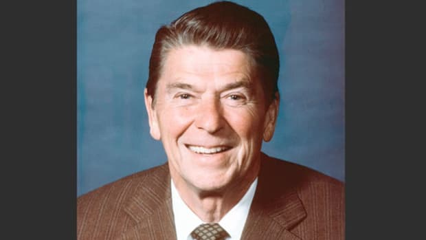 In 1973, the U.S. Supreme Court ruled in Roe v. Wade that women, as part of their constitutional right to privacy, could terminate a pregnancy during its first two trimesters. On the 10th anniversary of the ruling, President Ronald Reagan pledges in a radio report to the nation to fight to overturn the landmark case.