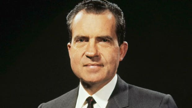 On July 13, 1964, the Republican Party convened at the National Convention in San Francisco to nominate their candidates for the presidency and vice presidency. Though he had flirted with the idea of running for president during the pre-primary period, Richard Nixon makes it clear in his speech that he has decided not to seek a nomination.