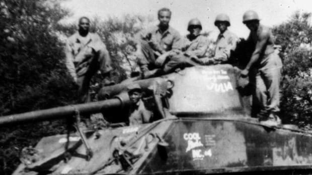 The 761st Panther Tank division was called to duty in 1962.