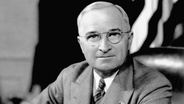 In his radio address to the American people, on August 9, 1945, President Harry Truman speaks about the Hiroshima bombing, and reasserts his threat to use additional atomic bombs against Japan until it surrenders.