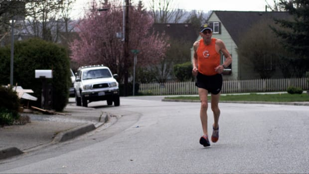 Knocked down by the first blast, 78-year-old Bill Iffrig and his orange running jersey became an iconic image of the 2013 Boston Marathon bombings.