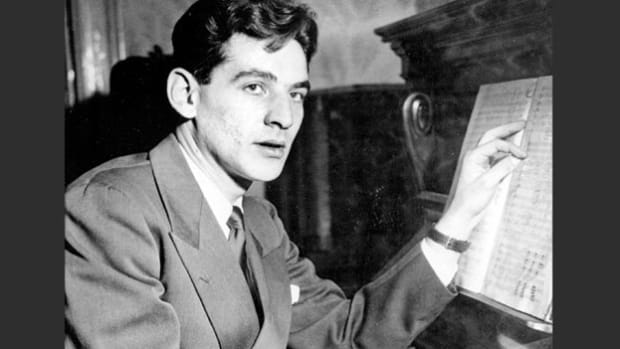 On November 14, 1943, an introduction to the New York Philharmonic Symphony Orchestra concert at Carnegie Hall announces that the young American-born assistant conductor, Leonard Bernstein, will be taking the place of Bruno Walter, who fell ill.