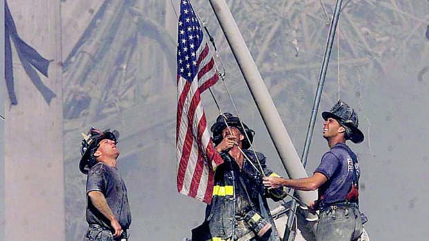 Shirley Dreifus, owner of the now-iconic flag raised at Ground Zero on September 11, 2001, tells the incredible story of the flag's role in the recovery, its disappearance, and the search to find it again.