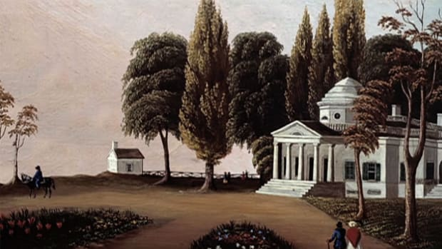 Thomas Jefferson spends years designing and building Monticello, his retreat from the demands and derision of politics.