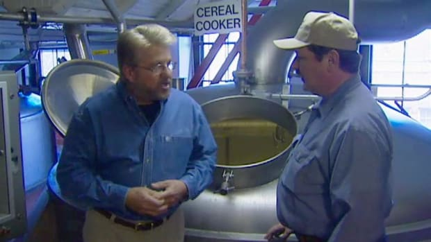 In this Hands on History video with Ron Hazelton, learn how beer is made from some of the oldest breweries in America. Discover how dozens of flavors of beer are made from just four simple ingredients: water, yeast, barley malt, and hops. See these actual ingredients in a Sam Adams Brewery and then travel to Yuengling & Son, the oldest brewery in America, to witness the evolution of beer. In this video, you will learn all of the steps it takes to create a truly great-tasting beer.
