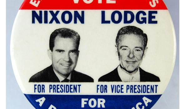 After some misinterpreted comments by President Eisenhower about Nixon that JFK used in a campaign ad against his opponent (Nixons Experience), Eisenhower fully endorses Nixon. But it was too little, too late. JFK won the election, by a slim margin.