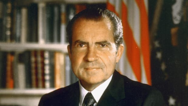 View and listen to President Nixon's resignation speech in its entirety from the White House.