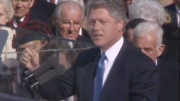 Excerpts from Bill Clinton's first inaugural address on Wednesday, January 21, 1993.