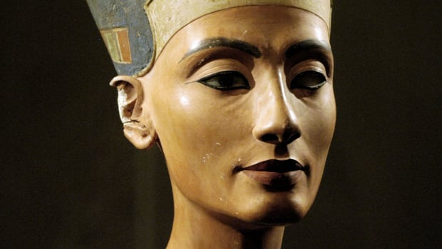 "Nefertiti means ""the beautiful woman has come,"" and according to 14th century BC rumors, she lived up to her name. Learn more about her legacy in this video."