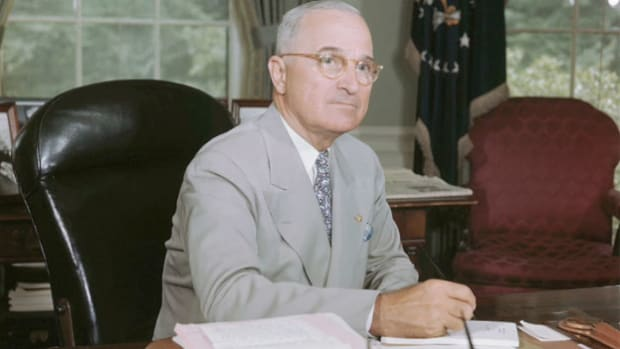 In a broadcast delivered from the White House by direct wire to the United Nations charter conference in San Francisco on April 25, 1945, President Harry Truman describes the challenges facing the new organization.