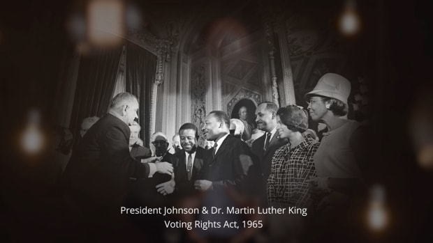 Historian Yohuru Williams explains the events leading up to the passage of the Voting Rights Act in 1965 and the act's historical significance.