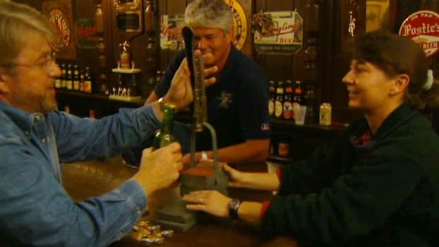In this Hands on History video with Ron Hazelton, trace the history of great American breweries to the immigrants who started them. Take for example the city of Boston, famous as the birthplace of the American Revolution and has a long tradition in brewing. One man played a key role in both the Revolution and the brewing, Samuel Adams. Throughout the early 1800's, immigrant families began starting up breweries like the ones they knew back in Europe. During the presidency of Andrew Jackson, the Yuengling family began brewing beer in Pennsylvania; six generations later, they are still brewing almost the same way as they used to. Hazelton talks with Dick Yuengling, a brewer who carries on years of tradition, for he is the fifth generation to run his family's brewery. Yuengling tells the history of his family's brewery and explains how they still practice brewing in many of the same ways that it was done 170 years ago. Also see how beer used to be bottled back in the day!