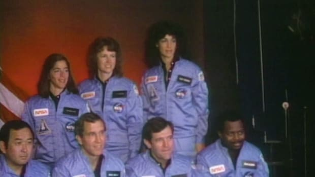 On January 28, 1986, the tenth mission of the space shuttle Challenger ended in tragic disaster. We remember the seven astronauts who lost their lives that day, including Christa McAuliffe, who was chosen by NASA to pioneer its Teacher in Space program.