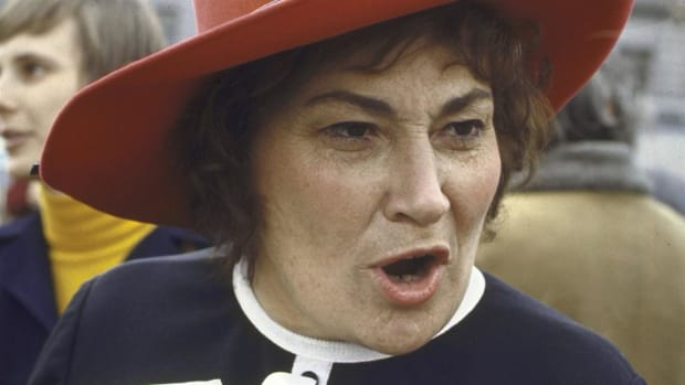 Women's rights advocate Rep. Bella Abzug recounts her conversation with House Judiciary Committee Chairman Emanuel Celler, a strong opponent of the Equal Rights Amendment.