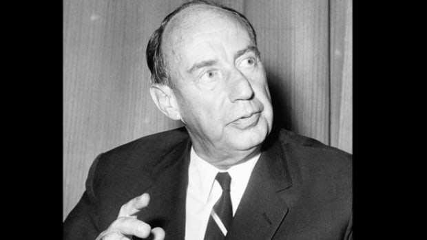 As permanent U.S. representative to the United Nations, Adlai Stevenson is interviewed in early 1965 about his view on the developing situation in Vietnam.