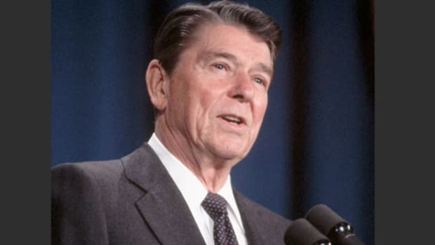 When the war broke out in Lebanon in June, 1982, President Ronald Reagan's plans to facilitate autonomy talks between Palestine and Israel were put on hold. Now, in September, with the conflict ended and the evacuation of the PLO from Beirut complete, President Reagan speaks from the studios of KNBC-TV on America's policy for peace in the Middle East.