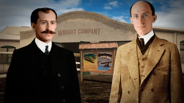 Their flight at Kitty Hawk made history, but did the Wright brothers invent the first airplane?