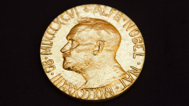 "On this day in 1901, the first Nobel Prizes are awarded in Stockholm, Sweden, in the fields of physics, chemistry, medicine, literature, and peace. The ceremony came on the fifth anniversary of the death of Alfred Nobel, the Swedish inventor of dynamite and other high explosives. In his will, Nobel directed that the bulk of his vast fortune be placed in a fund in which the interest would be ""annually distributed in the form of prizes to those who, during the preceding year, shall have conferred the greatest benefit on mankind."" Although Nobel offered no public reason for his creation of the prizes, it is widely believed that he did so out of moral regret over the increasingly lethal uses of his inventions in war."
