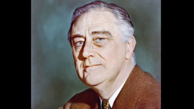 From WGN Chicago on November 7, 1940, news reporter Fulton Lewis Jr. details the historic third-term election of Franklin D. Roosevelt as president of the United States.