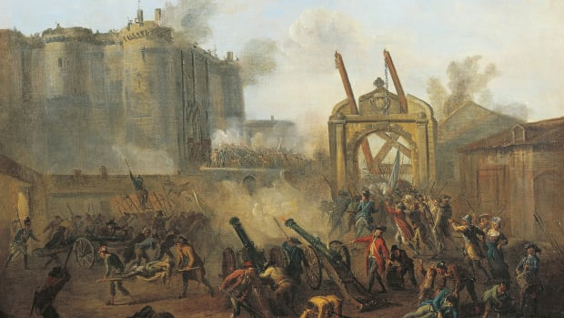 In a This Day in History video, learn that on July 14, 1789, revolutionaries created a summer holiday in France when they stormed the Bastille. The fortress was a hated symbol of the monarchy that held political prisoners. Just after dawn, a great crowd gathered outside and was at first repelled by the King's soldiers, but a group managed to sneak over the walls and let down the drawbridge. The French Revolution was officially underway and soon revolutionaries controlled all of Paris, forcing King Louis XVI to accept the constitutional government. A few years after the storming of the Bastille, during the reign of terror, King Louis XVI lost was beheaded.