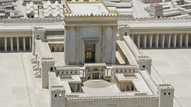 Herod's Temple was a closely guarded holy site that stood at the center of the Temple Mount.