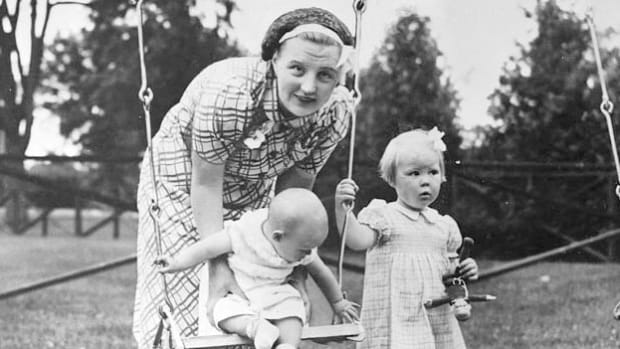 Two days after the Nazi invasion of the Netherlands in May 1940, the Dutch royal family was evacuated to England. From there, Princess Juliana fled to Canada with her two daughters. On June 17, 1940, a few days after arriving in Canada, the princess addresses her new compatriots in a broadcast on CBC Radio.