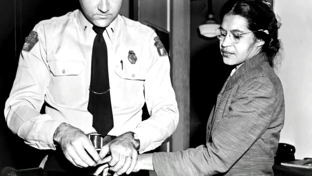 On December 1, 1955 Rosa Parks refused to give up her seat on a bus in Montgomery, AL and sparked the American Civil Rights movement of the 20th century.