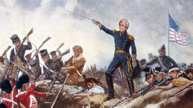 No-nonsense commander Andrew Jackson cleverly defended New Orleans against the threat of an overwhelming British force during the War of 1812.