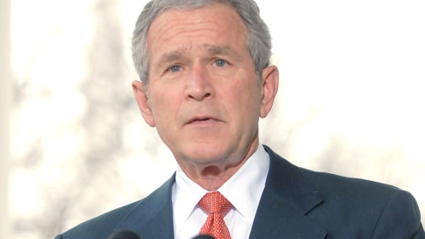 George W. Bush's controversial election to the U.S. presidency was further complicated by 9/11 and the Iraq War. Take a look at his roots in Texas politics and time in the White House in this video.