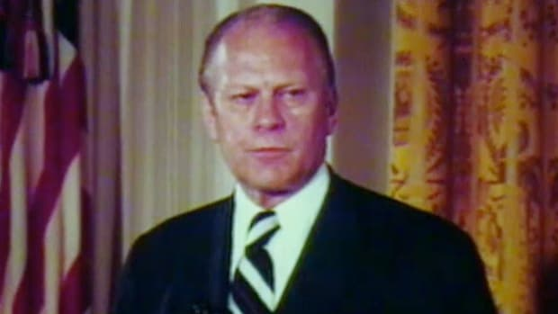 Excerts from Gerold R. Ford's inaugural address on Friday, August 9, 1974.