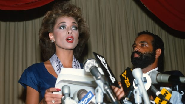 In a This Day in History video, learn that on July 23, 1984, Miss American pageant winner Vanessa Williams was forced to turn in her tiara. Williams had made history by being the first African American woman to receive the Miss America title, but when Pent House magazine published racy photos that had been taken two years earlier, Williams was asked to abdicate. Williams stated that she regretted the photos, but that she planned to focus on her future and her career; and she did.