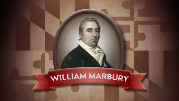 What happened in the 1803 United States court case between William Marbury and James Madison? What affect did it have on the young nation?