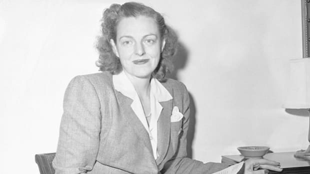 Broadway star turned New Deal politician Rep. Helen Gahagan Douglas is interviewed about an anti-lynching bill she presented to Congress in 1944.