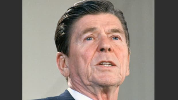 In late 1981, in an address to the nation, President Ronald Reagan condemned the recent communist crackdown on the Solidarity Movement in Poland.