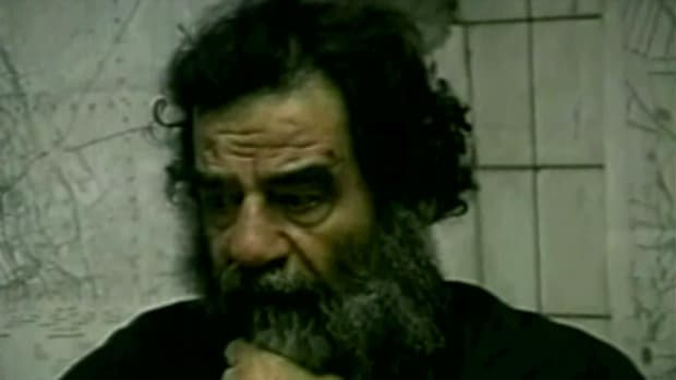 "This video clip from ""History Uncut"" provides a glimpse into the capture of famed dictator Saddam Hussein. Former Iraq President Saddam Hussein had been in hiding for almost a year until U.S. forces captured him outside the city of Tikrit in a military operation known as Operation Red Dawn."