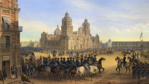 America was ready to expand westward, even if it meant going to war. Learn how and why the Mexican-American War happened.