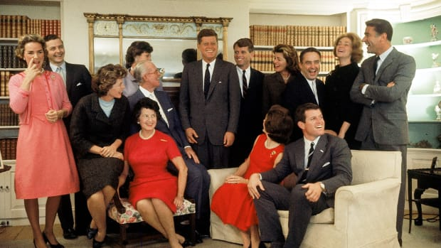 From patriarch Joe Kennedy to President John F. Kennedy to today's generation, explore the Kennedy family tree.