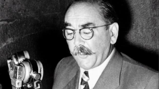 "On November 4, 1963, the Soviets launched an attack to quell the Hungarian Revolution, which began on October 23. A Radio Budapest correspondent reads a statement delivered earlier by Hungarian Premier Imre Nagy charging the Soviets with attempting to overthrow Hungary's ""lawful democratic government."""