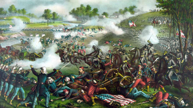 In This Day in History video clip: The First Battle of Bull Run, was the first major land battle of the American Civil War, fought on July 21, 1861, near Manassas, Virginia. Three months after the Civil War erupted at Fort Sumter, Union military command still believed that the Confederacy could be crushed quickly and with little loss of life.