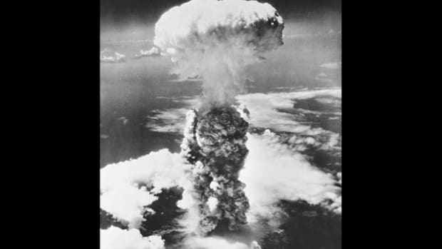 In an interview for the United States Strategic Bombing Survey in December 1945, Kaleria Palchikoff Drago, a Russian immigrant living in Japan, gives an eyewitness account of August 6, 1945, when the United States dropped an atomic bomb on Hiroshima.
