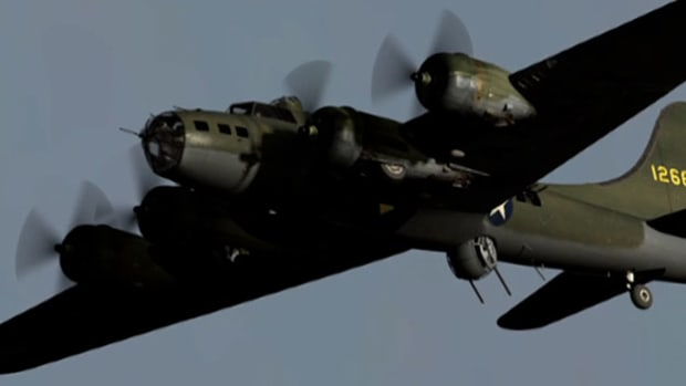 Marvel at the unprecedented speed, strength and seemingly endless range of the Boeing B-17 Flying Fortress Bomber, one of the most recognizable heavy bombers of World War II.