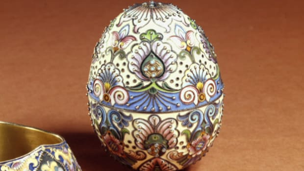 In this History of the Holidays video, learn the origin of one of Easter's most elegant decorations, the Faberge egg. The first Faberge egg, or imperial egg, was requested by Czar Alexander III as an Easter gift for his wife, Czarina Maria.