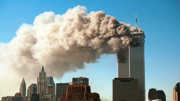 On September 11, 2001 Al-Qaeda terrorists hi-jacked four jets and flew them into the towers of the World Trade Center, the Pentagon, and the last was forced down by flight attendants and passengers. This and other events were recapped in this video clip. Russ Mitchell tells us the major historical events that took place on September 11, including the attacks that killed almost 3,000 people. From This Day In History we see that General George Washington and his troops were defeated in the Battle of Brandywine in Pennsylvania, and President Franklin D. Roosevelt dedicated the Hoover Dam in Colorado. Also on September 11, the Beatles recorded their first two songs Love Me Do and P.S. I Love You.