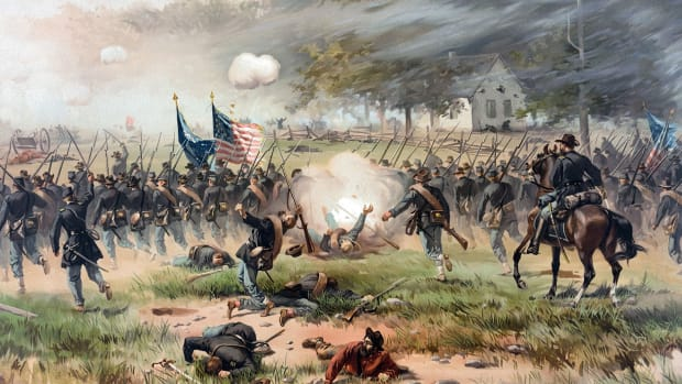 In this This Day in History video, Robert E. Lee's bloody Civil War battle of Antietam is discussed. It occurred on 9/17/1862 and is considered the bloodiest one day battle in U.S. History.