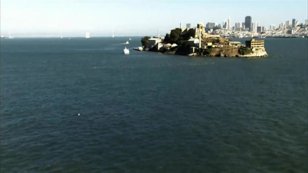 "Get all the facts and figures about the island of Alcatraz, commonly known as ""The Rock""."
